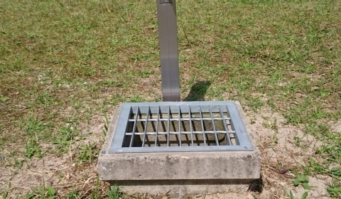 蓮潟児童遊園水栓柱取替